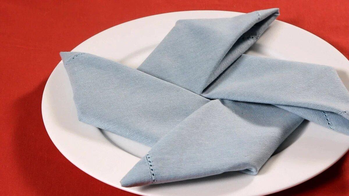 Фото вертушки из тканевой салфетки