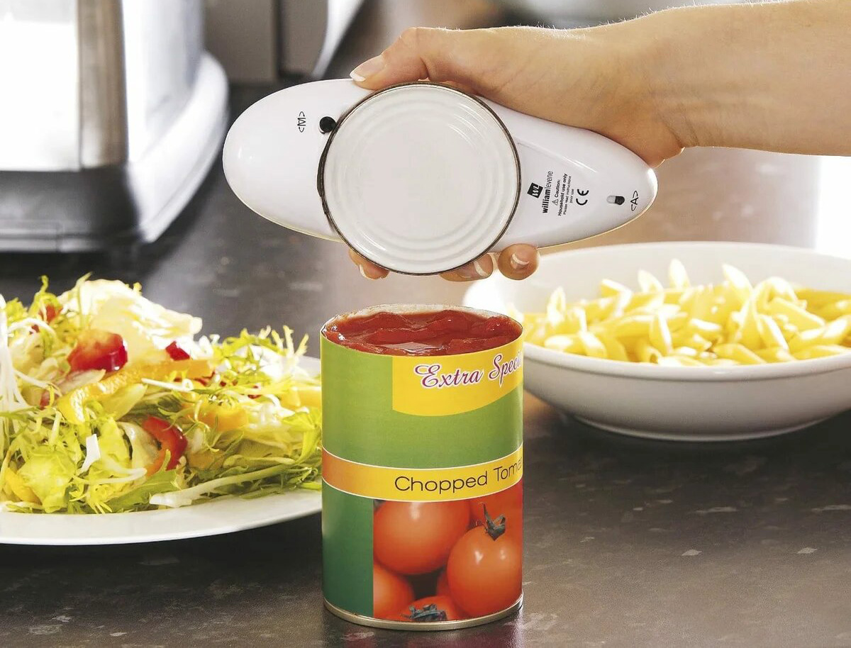 Фото автоматического консервного ножа