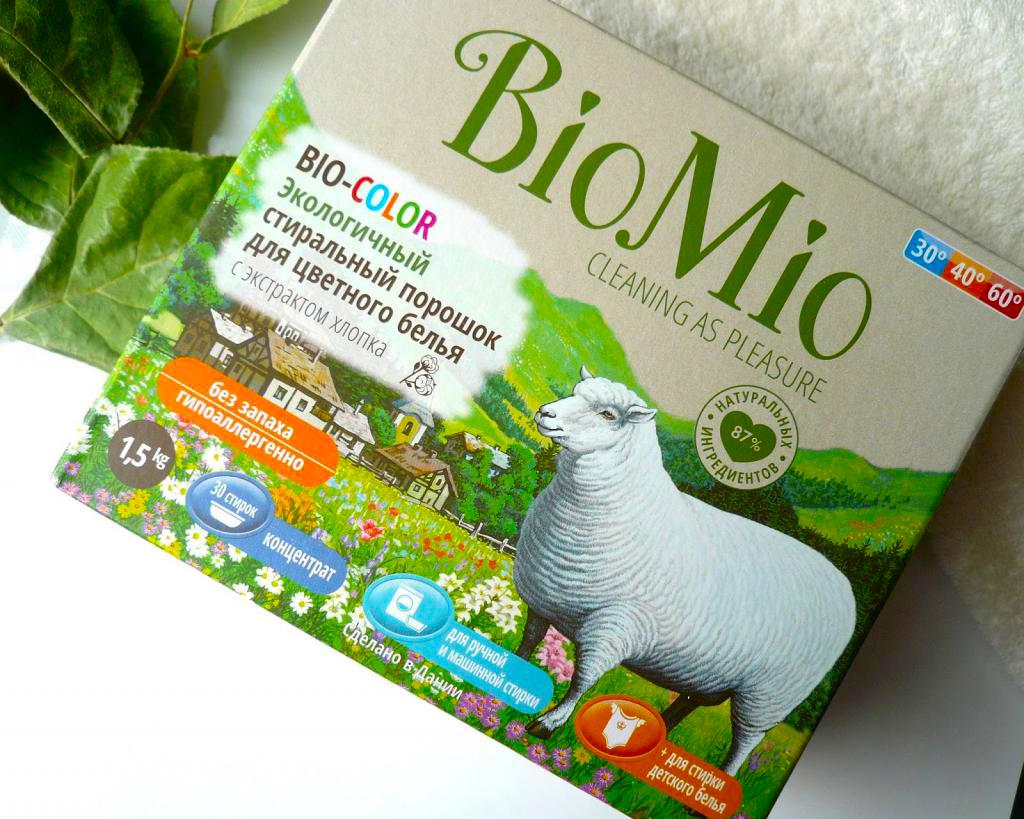 Порошок Bio Mio