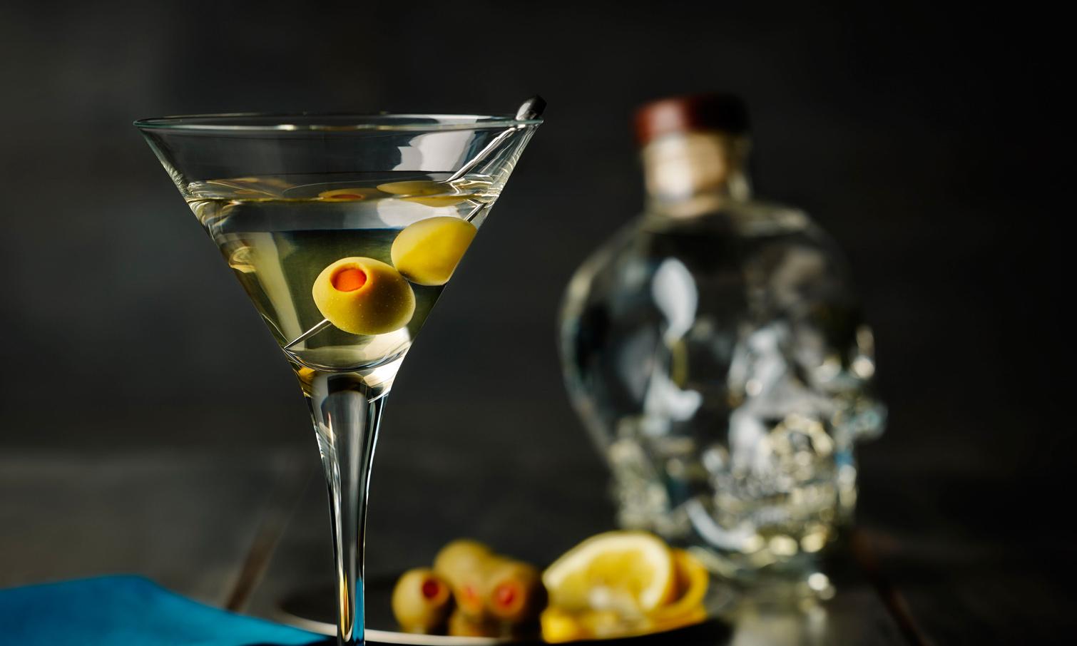 Фото бокала с мартини