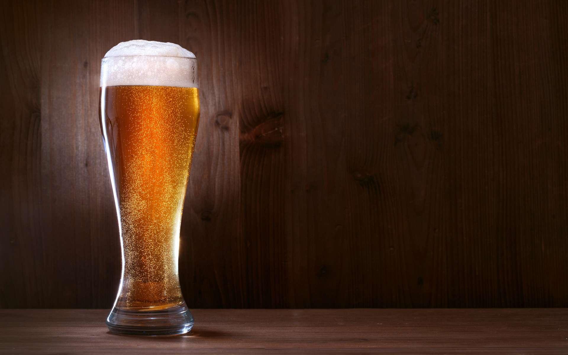 Фото бокала с пивом