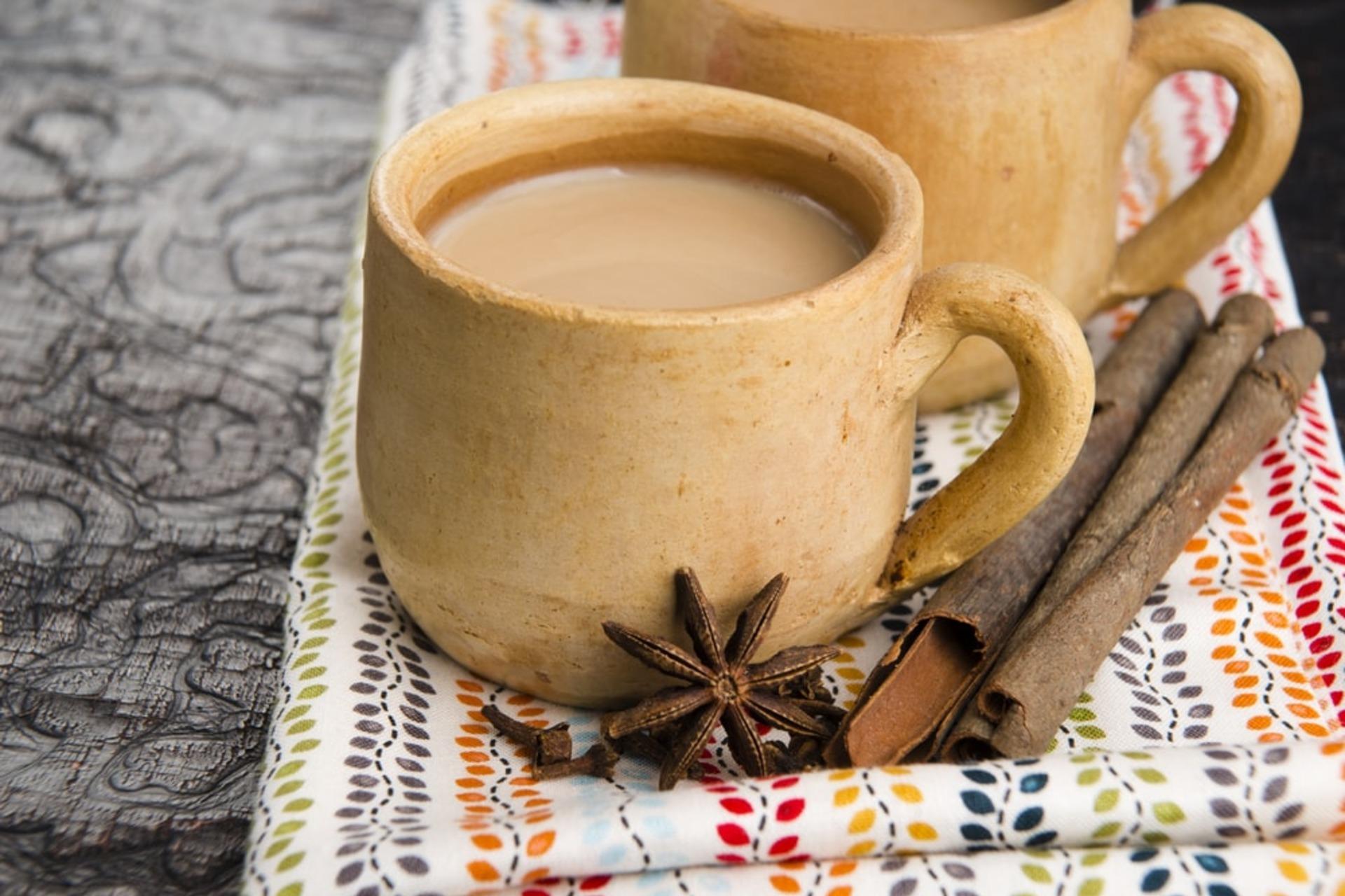 Чай масала в чашке