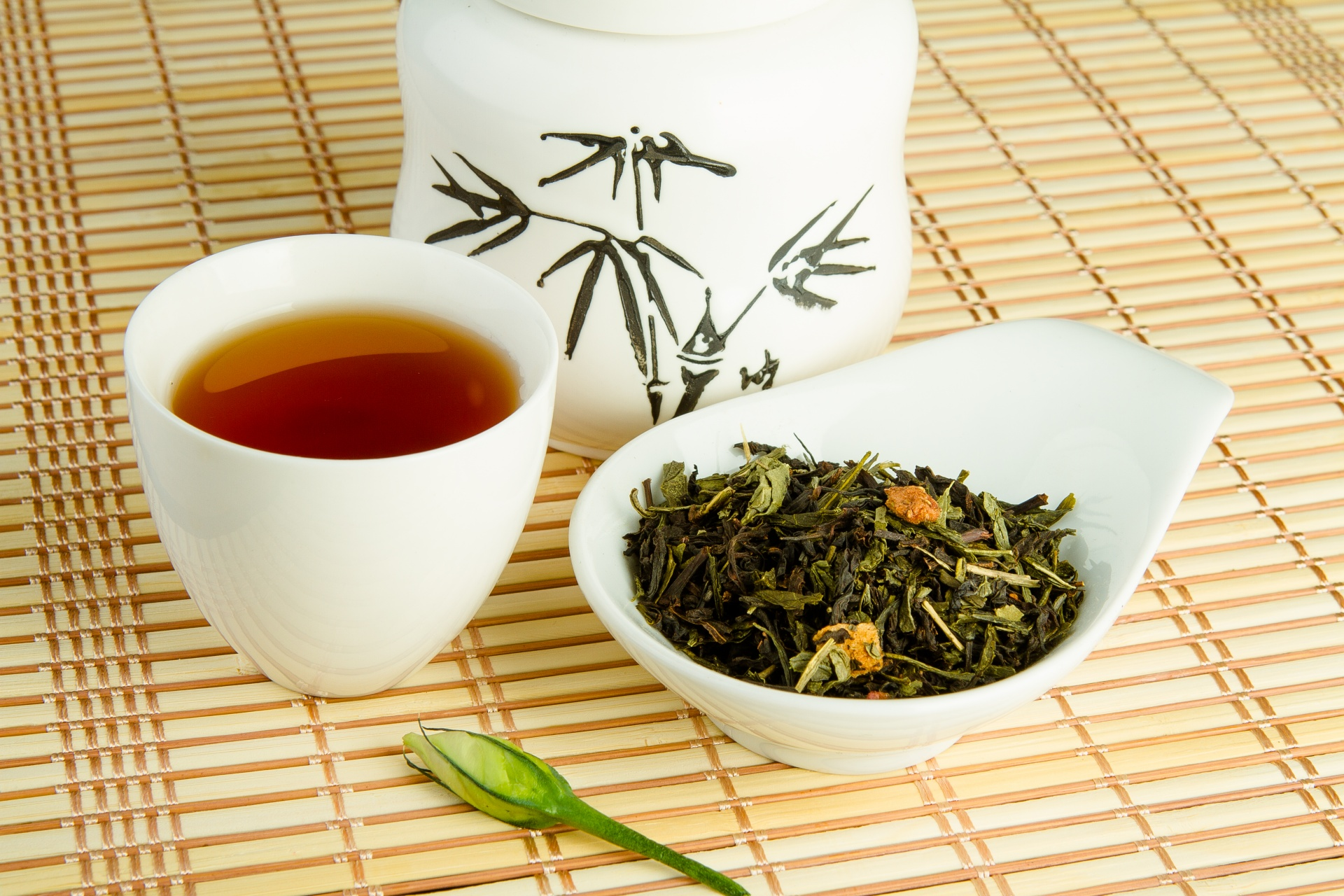 Чай в китайской чашке