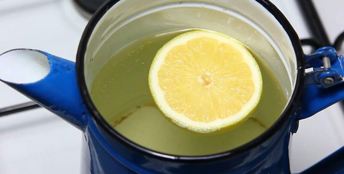 Чайник с лимонной кислотой