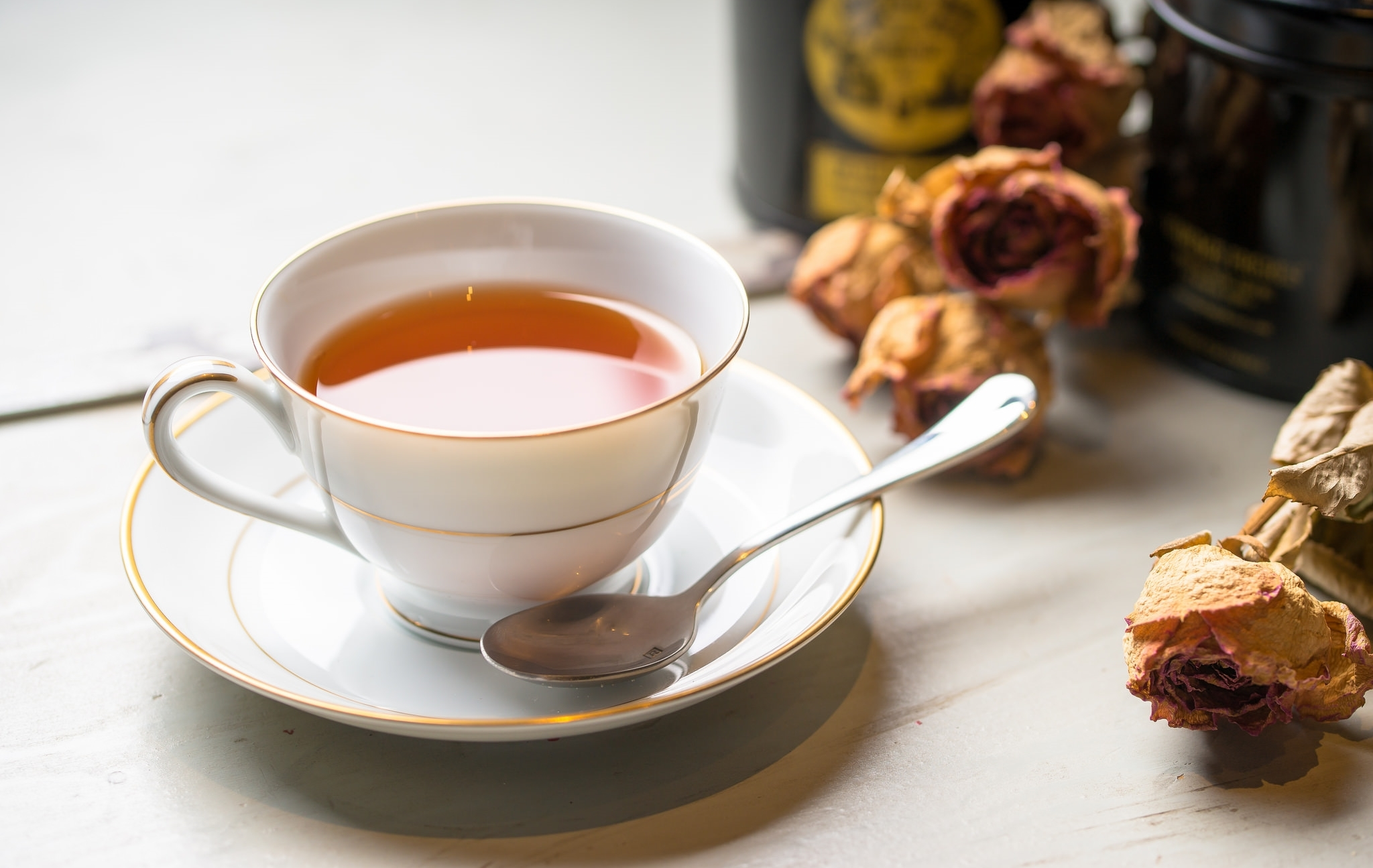 Фото чашки с чаем