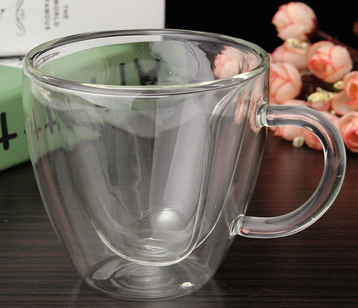 Чашка с двойным дном