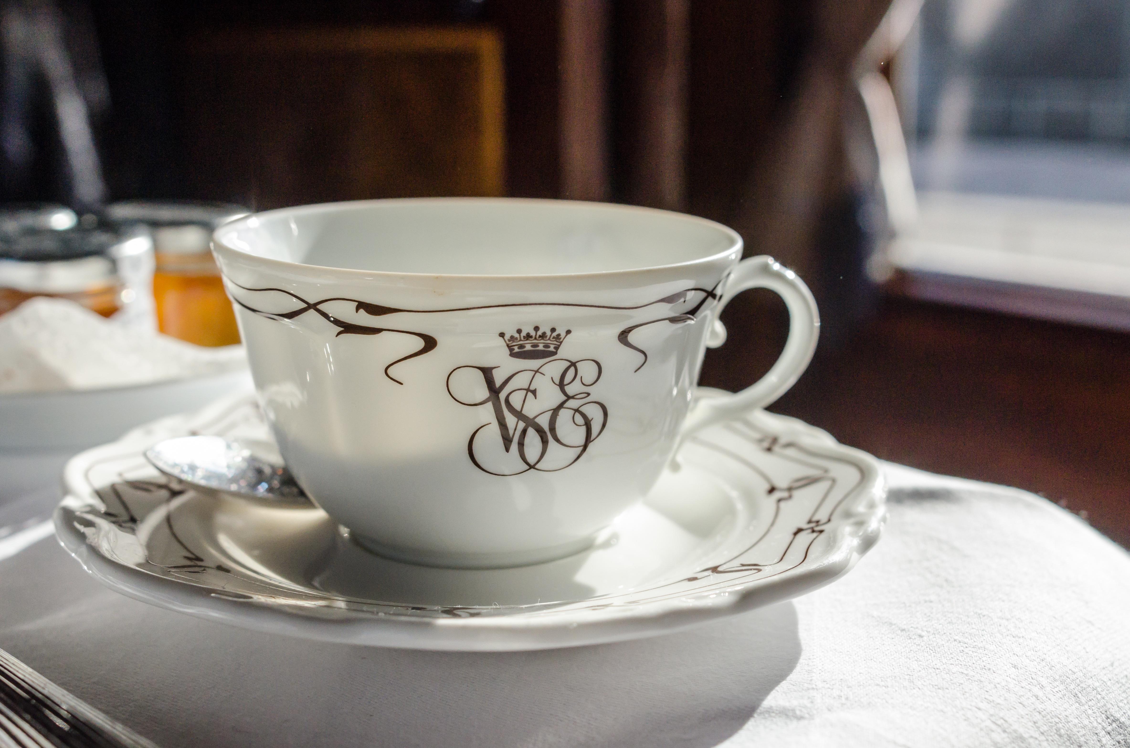 Чашка с узорами