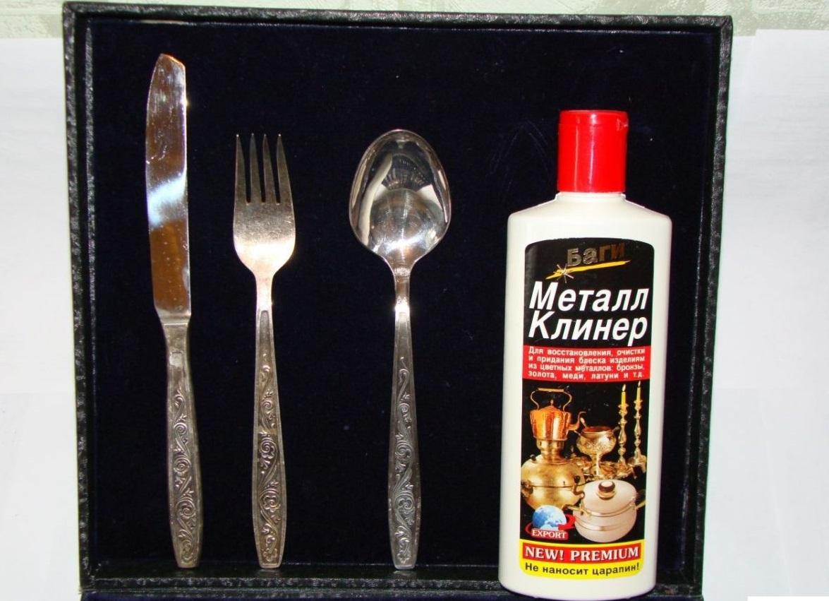 Чистящее средство для мельхиора