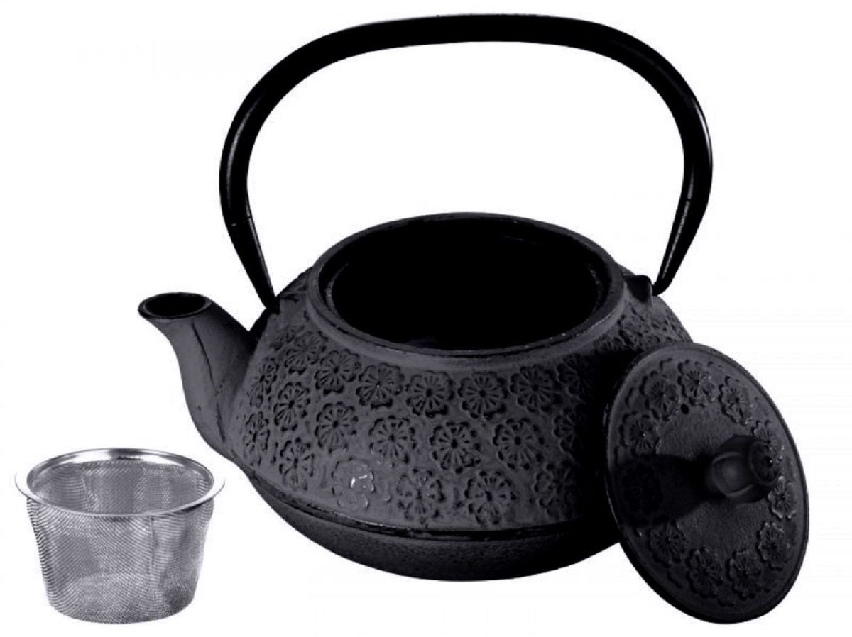 Чугунный чайник Elff «Decor»