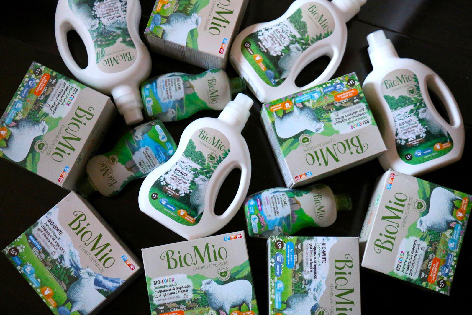Еко-средства для посуды Bio Mio