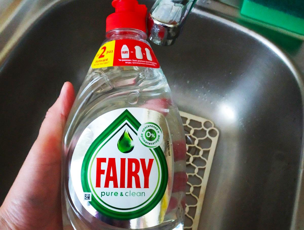 Fairy в руке
