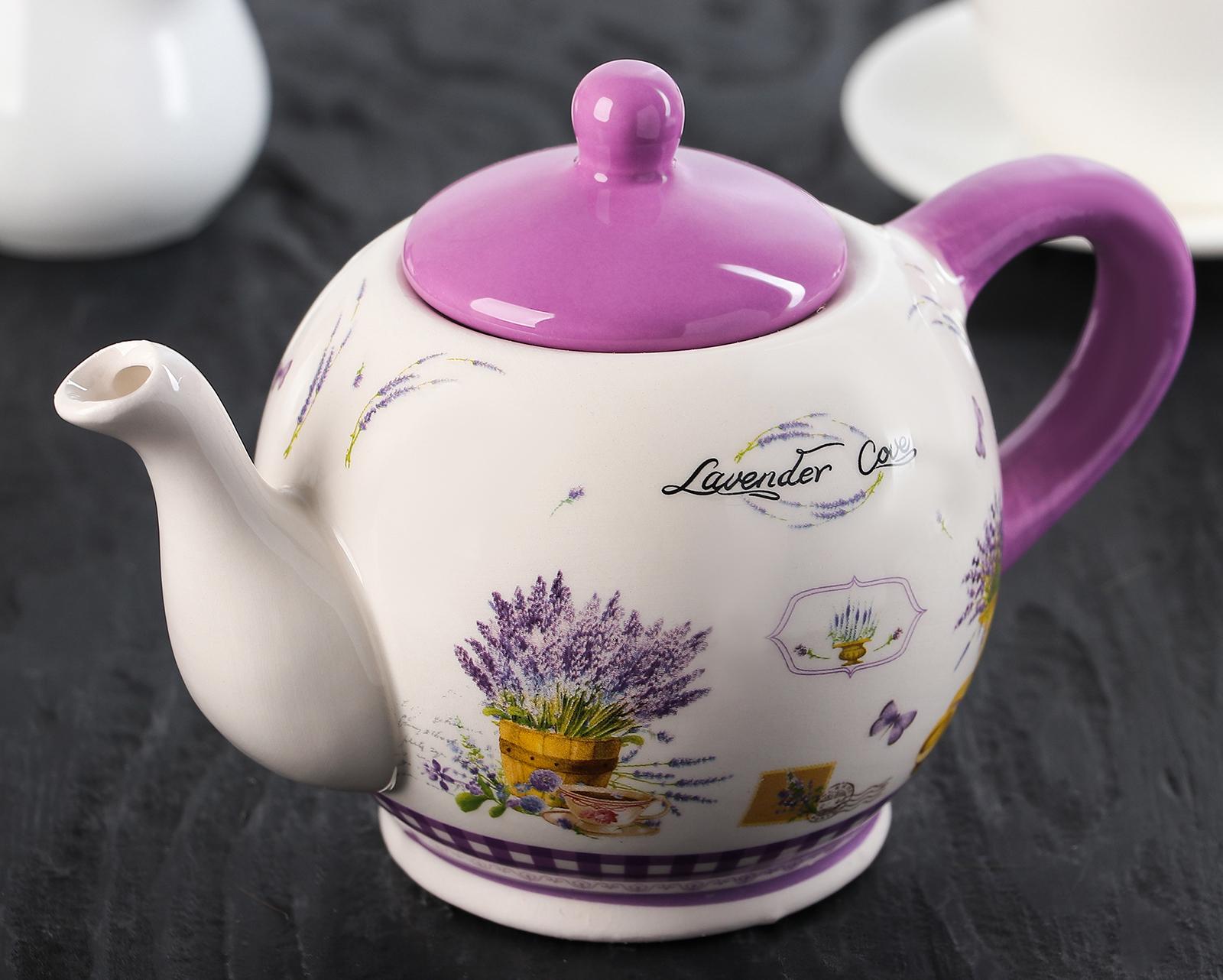 Фото круглого чайника