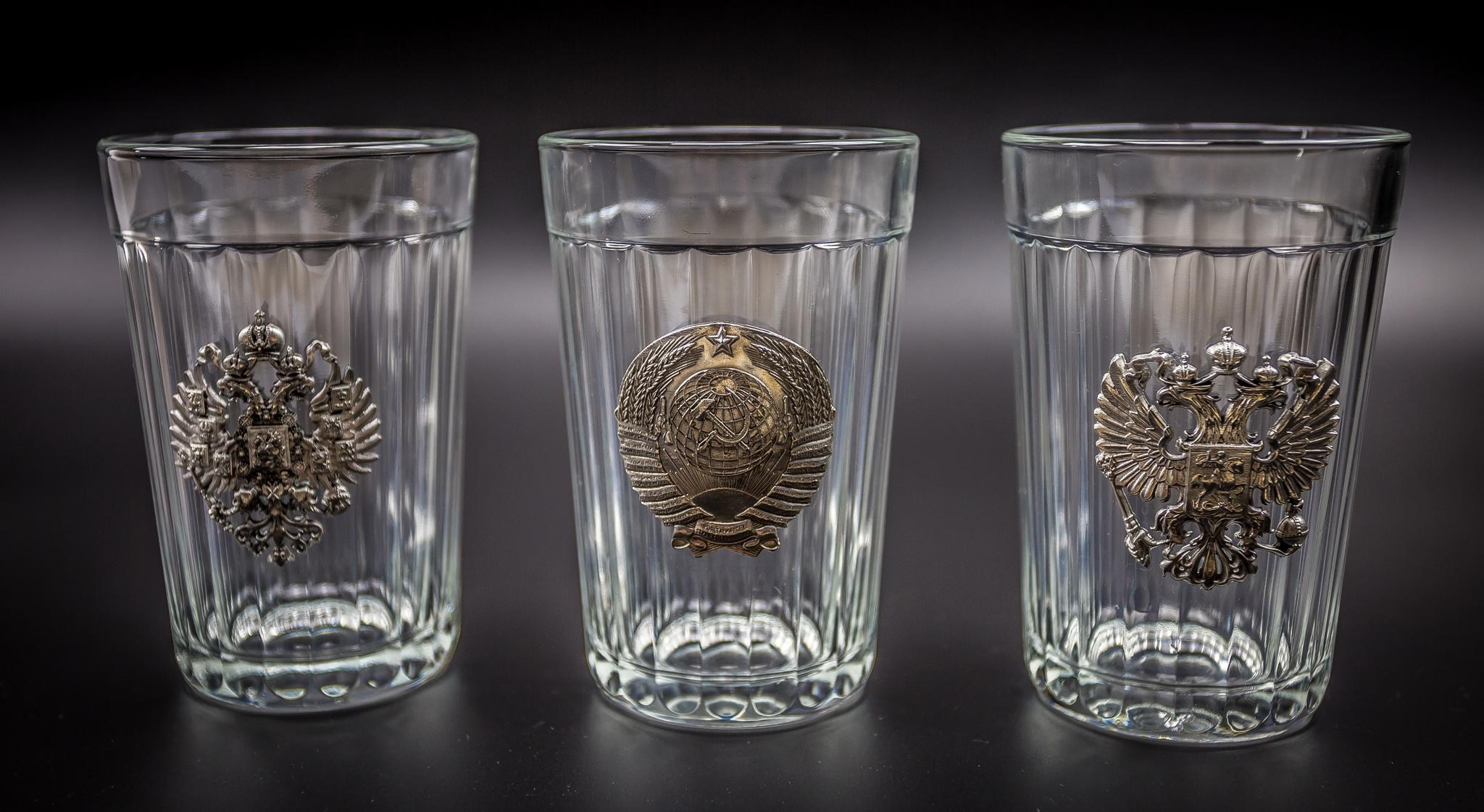 Граненые стаканы