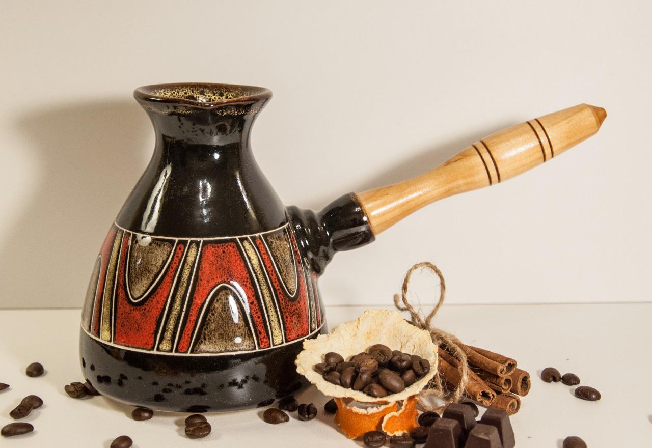 Керамическая турка для кофе