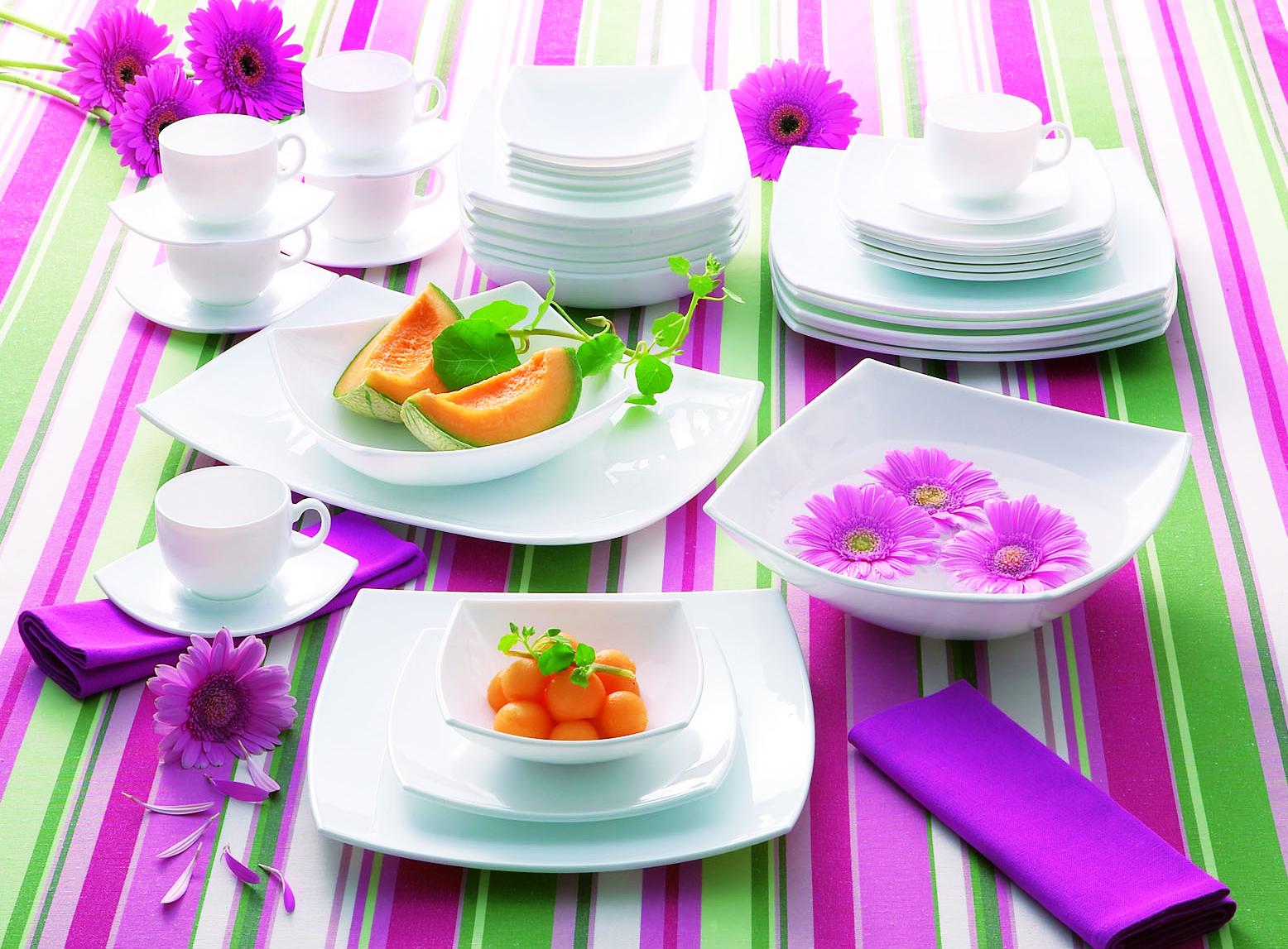 Квадратные тарелки Люминарк