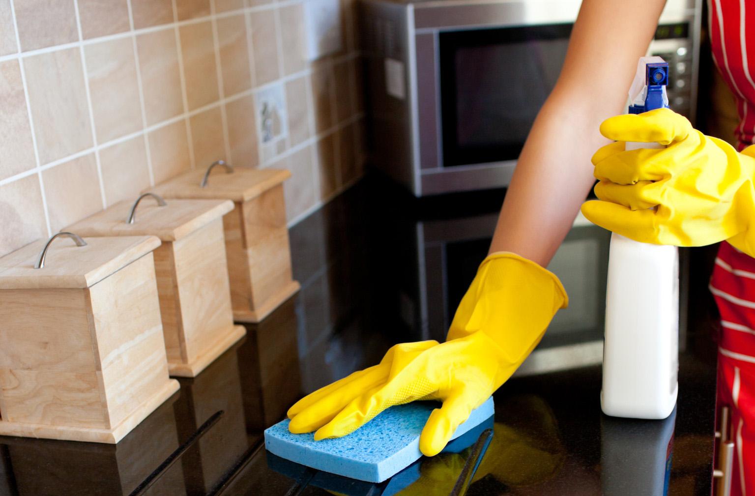 Мытье кухни