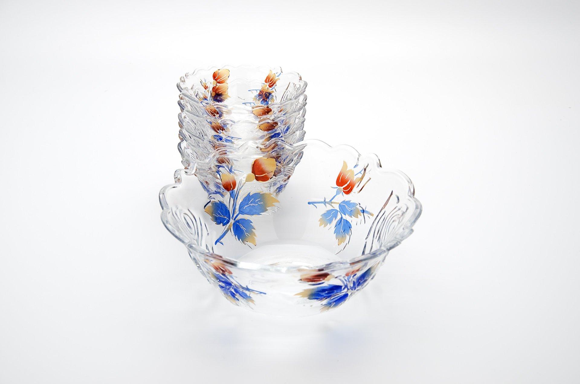 Набор салатниц из стекла
