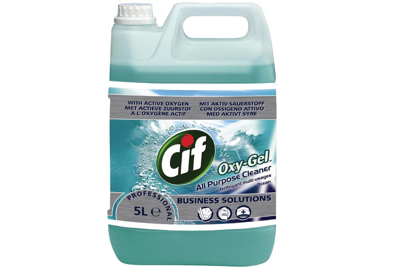 Oxy Gel – средство для мытья полов.