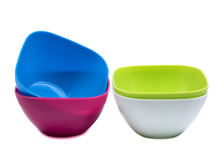 Пластиковые салатницы