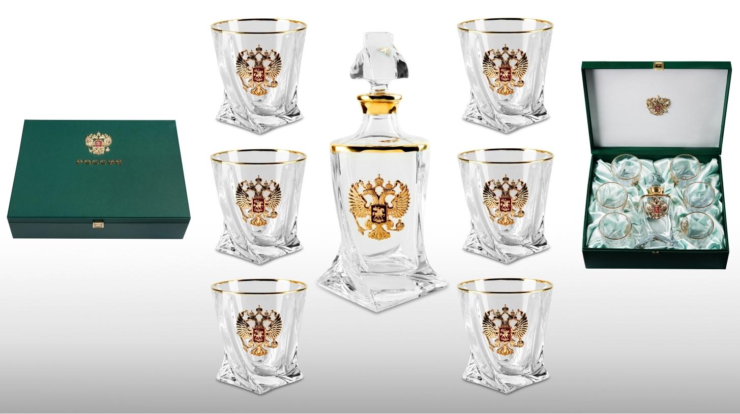 Подарочный набор стаканов для виски