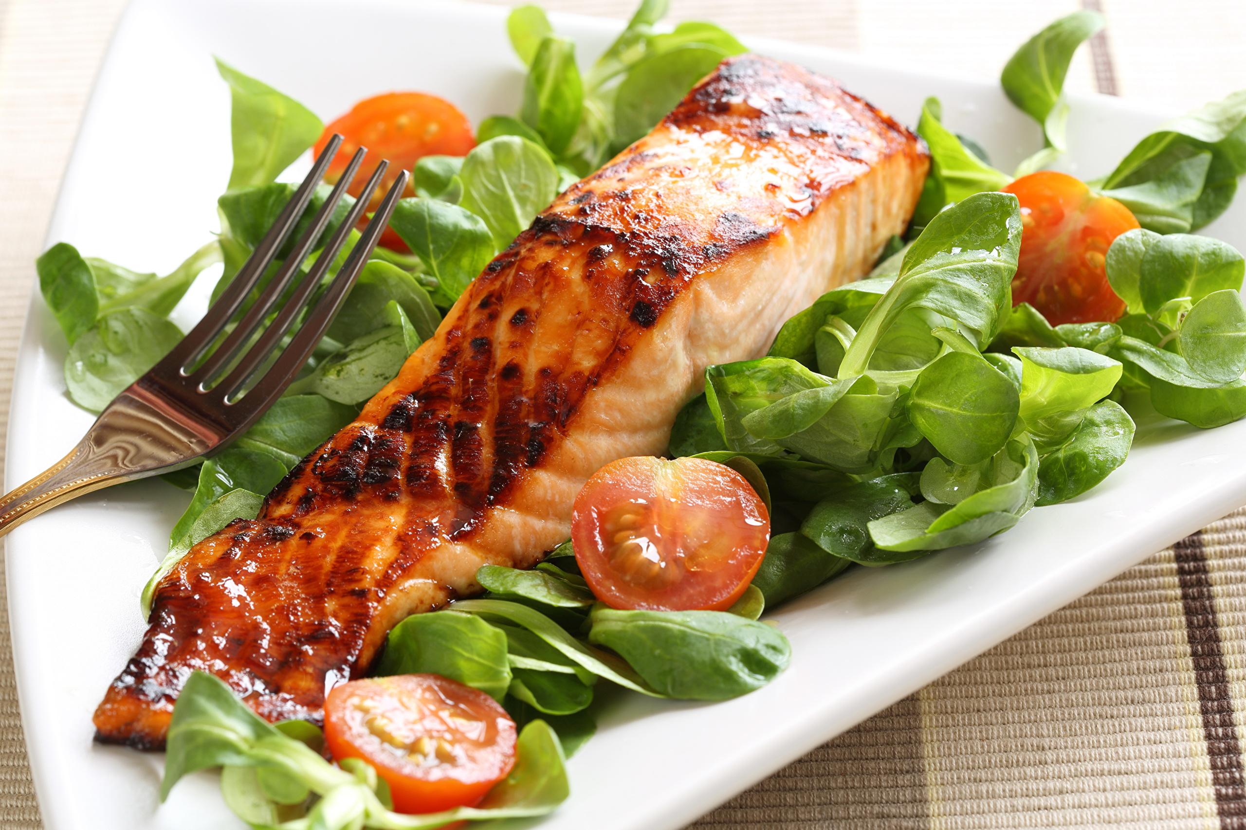 Рыба в ресторане