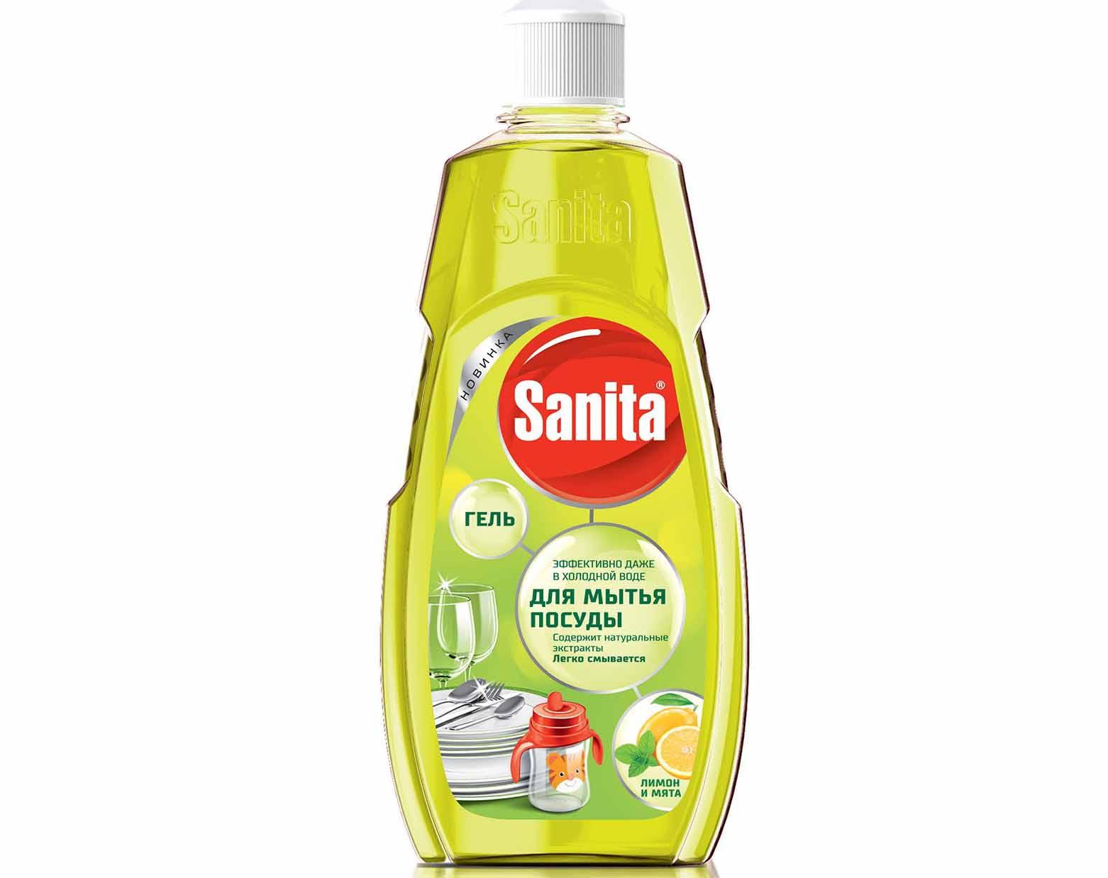 Sanita с лимоном