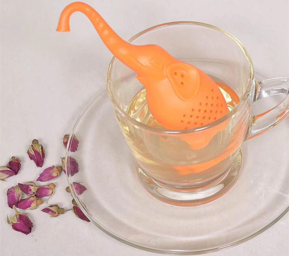 Ситечко для чая силиконовое