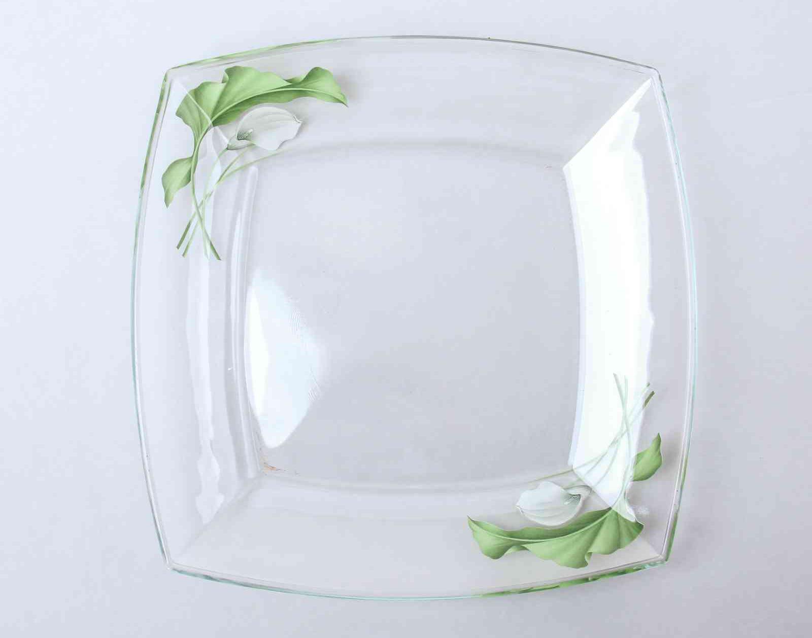 Фото стеклянной тарелки