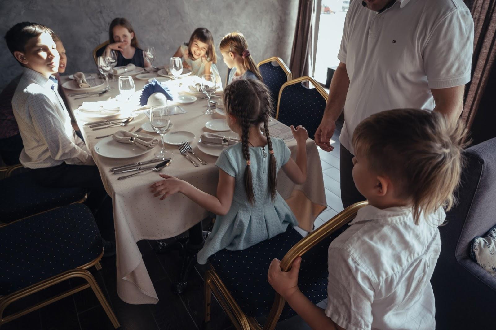 Столовый этикет для детей