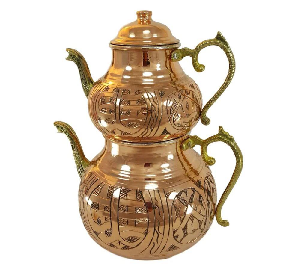 Турецкий чайник с орнаментом