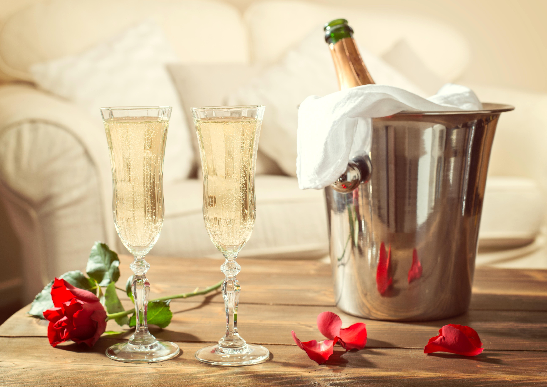 Ведро для шампанского из нержавейки