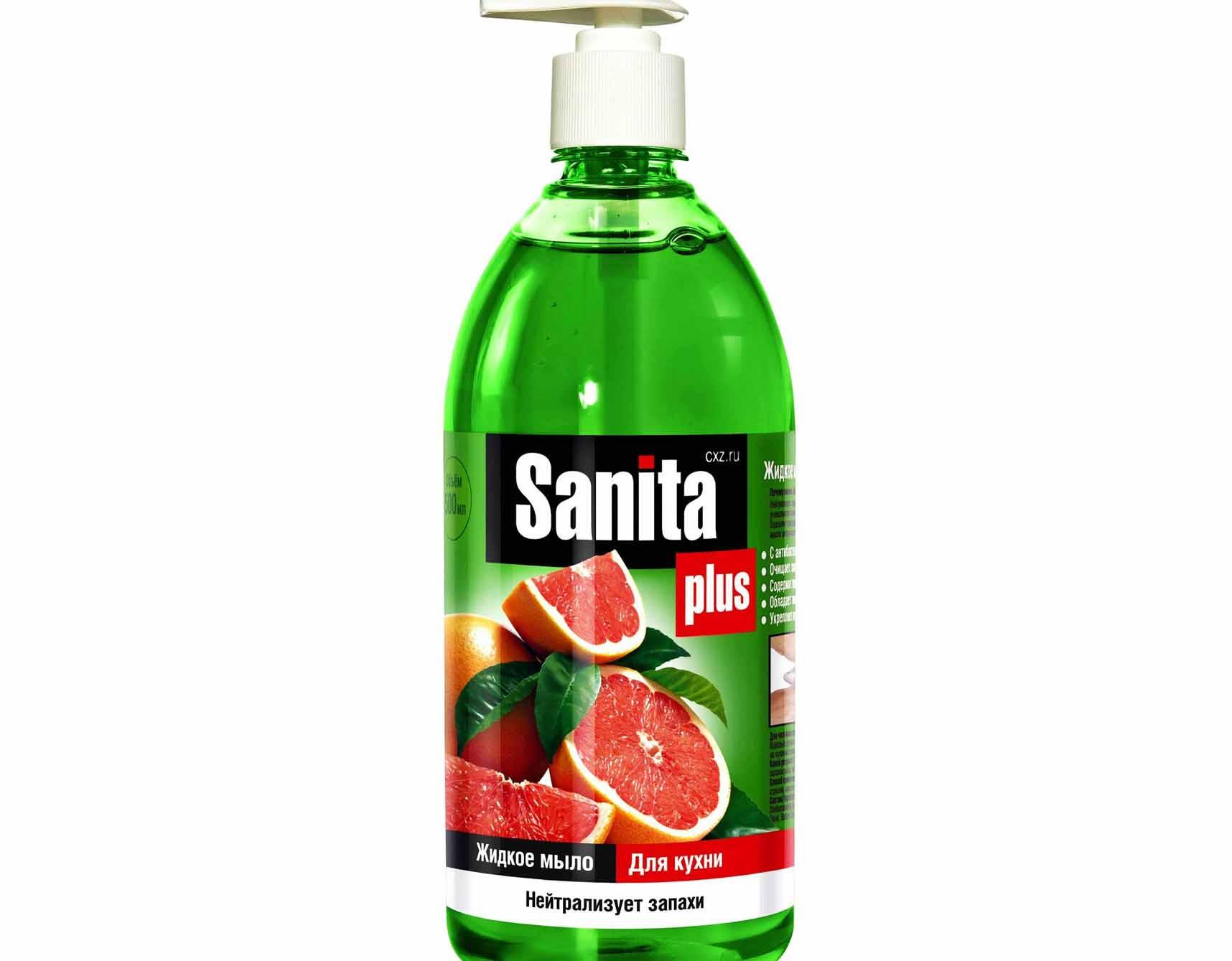 Жидкое мыло Sanita