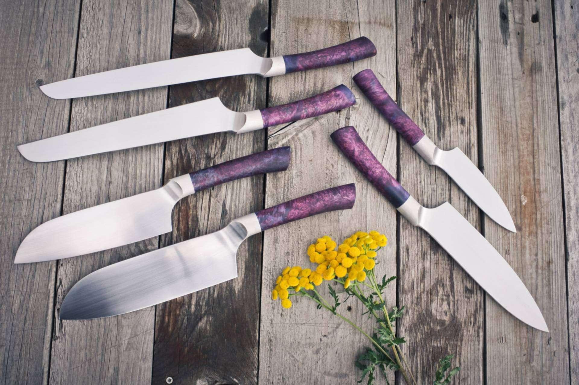 Фото кованных ножей