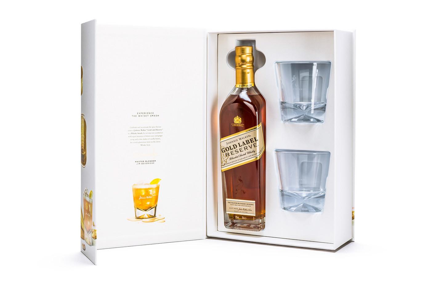 Фото набора с виски