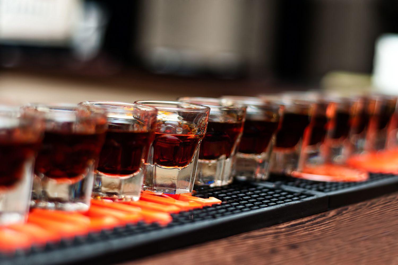 Виски в шотах