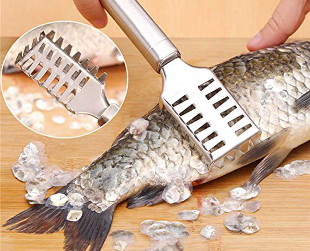 Нож для рыбы из нержавейки