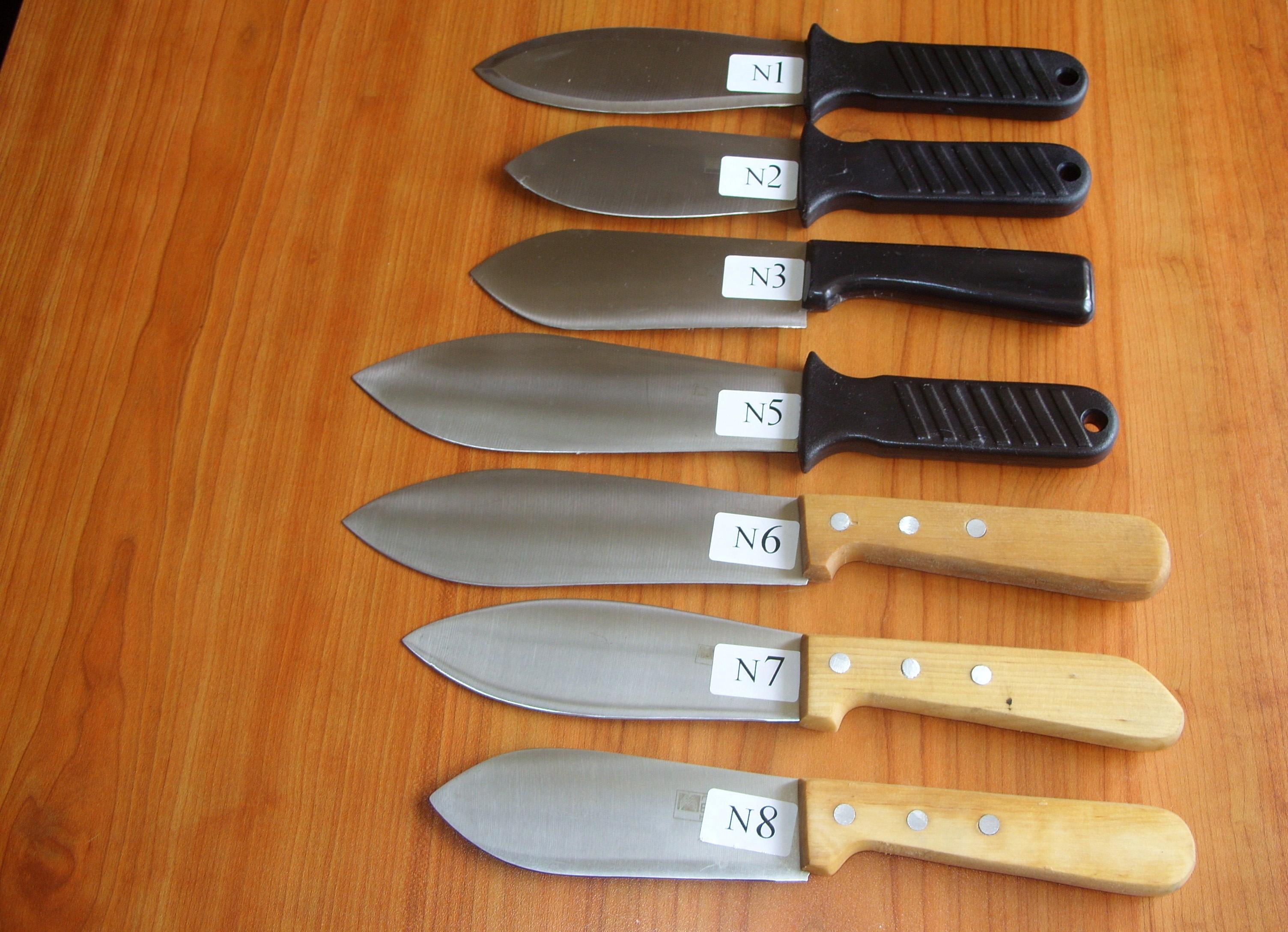 Шкерочные ножи