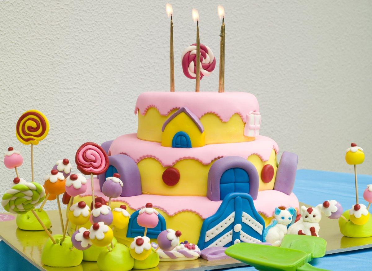 Фото детского торта