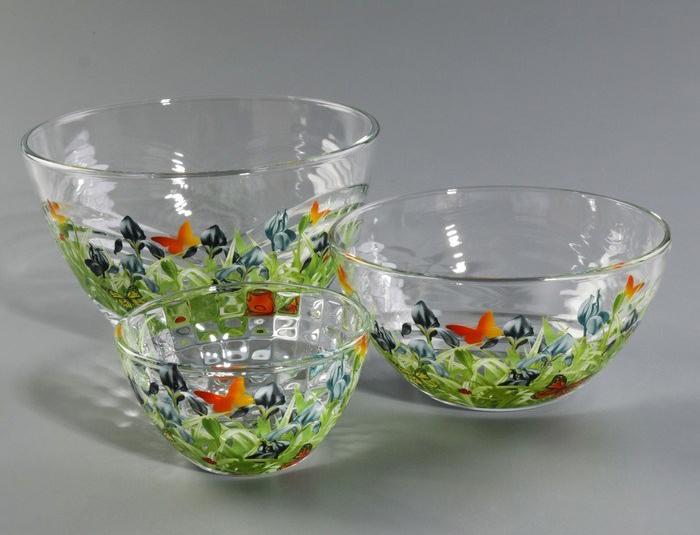 Фото набора салатников