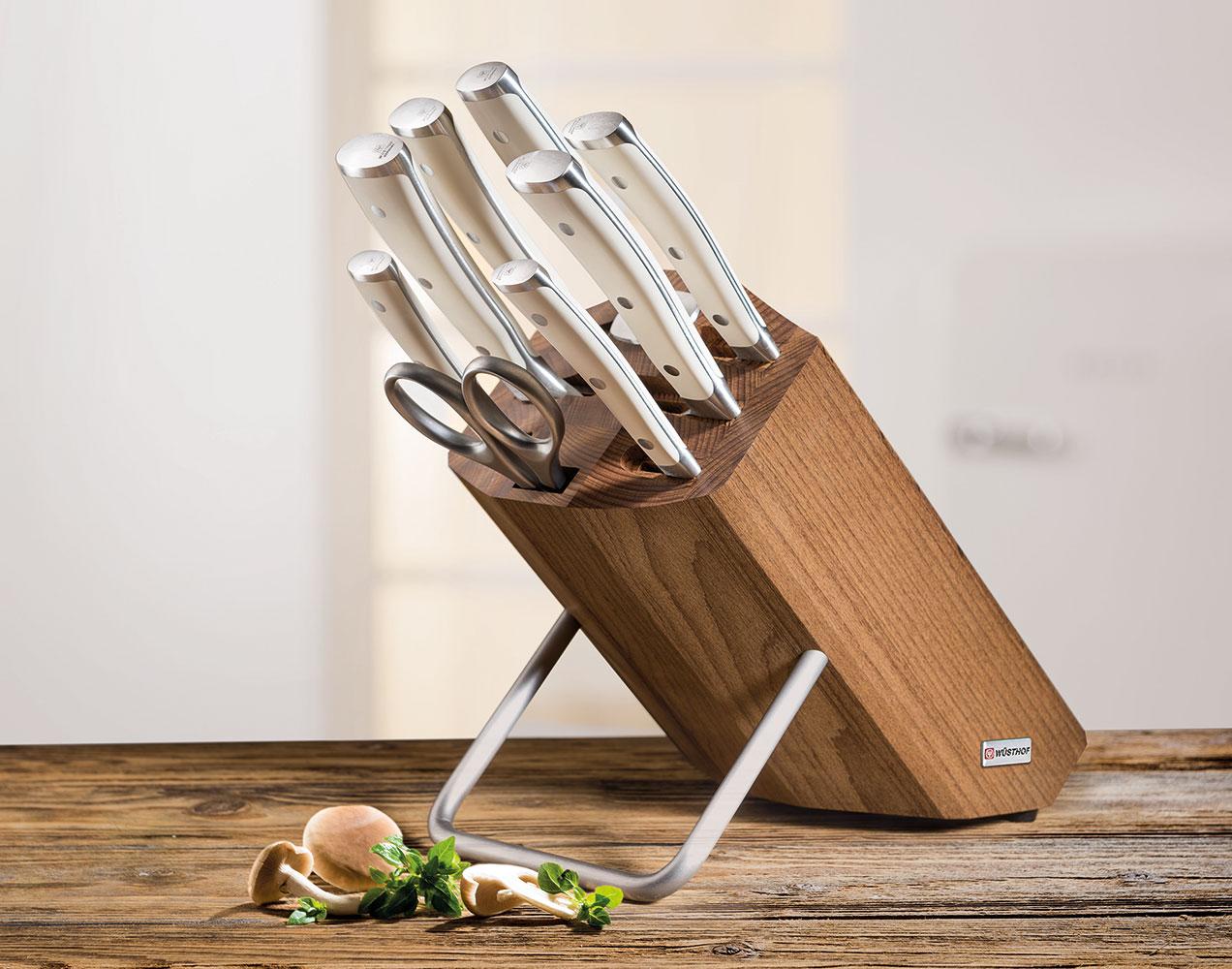 Подставка для ножей с пазами