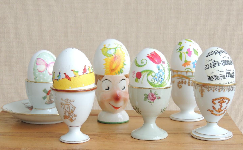 Подставки для яиц из фарфора