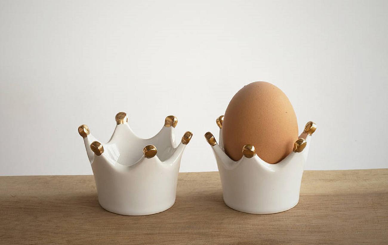 Подставки для яиц из керамики