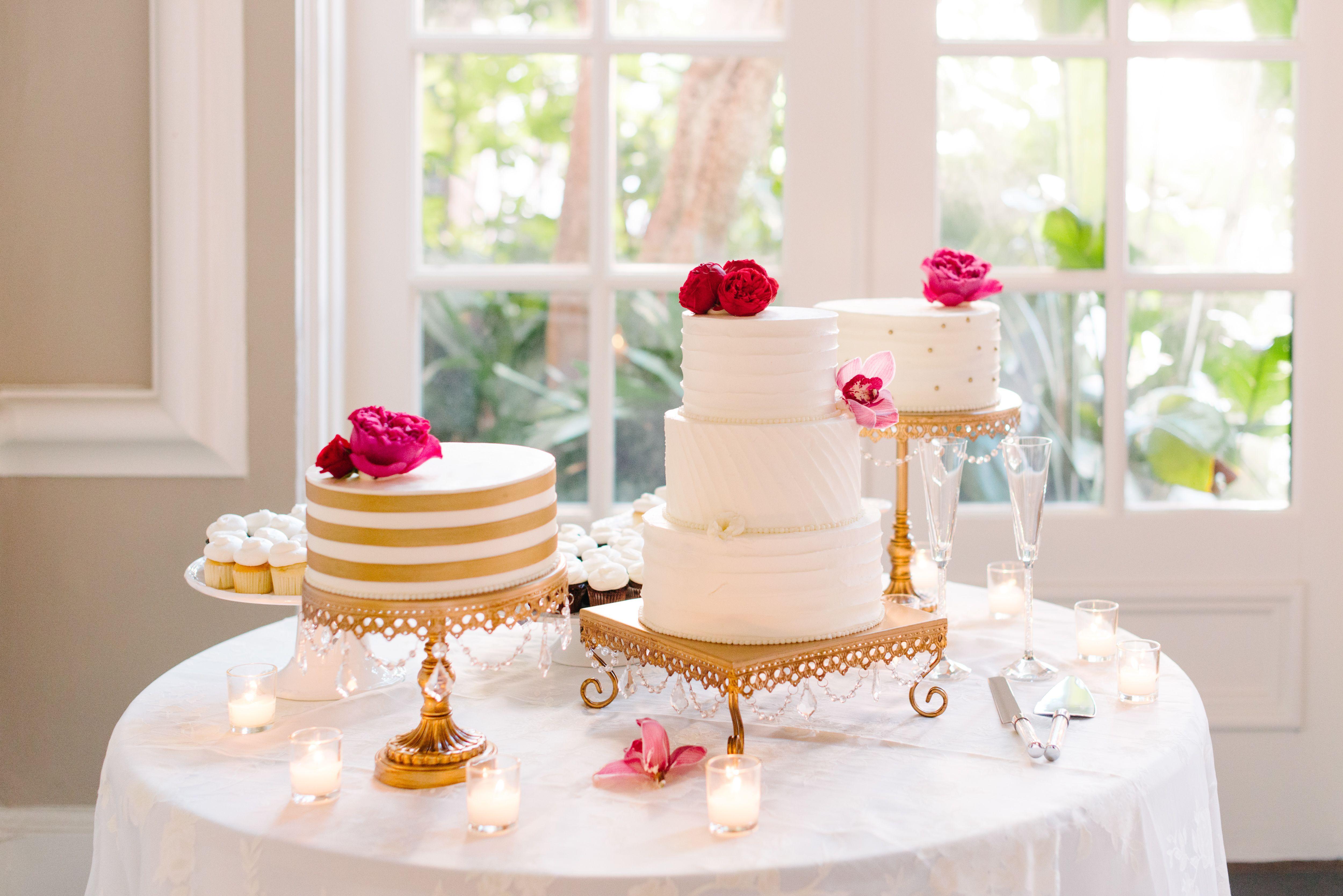 Подставки с тортами