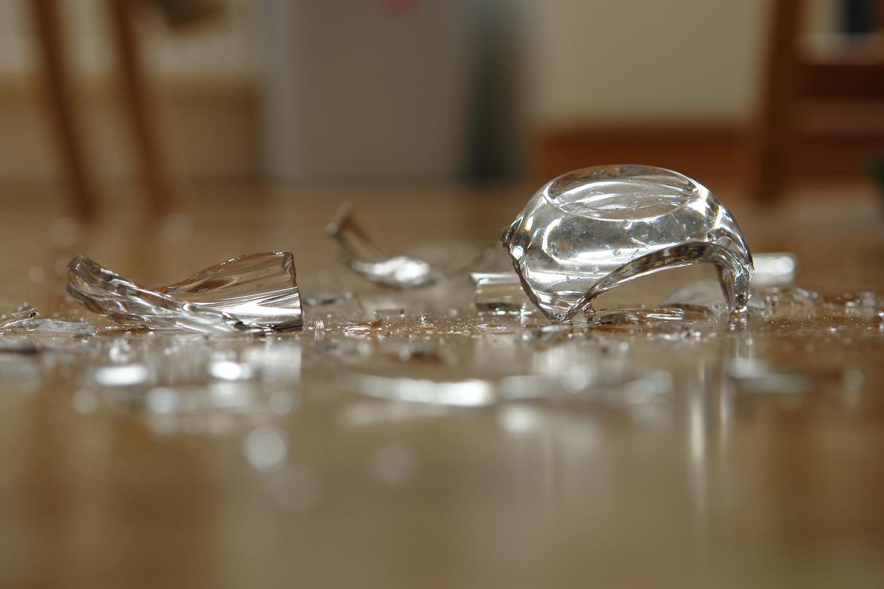Фото стеклянных осколок
