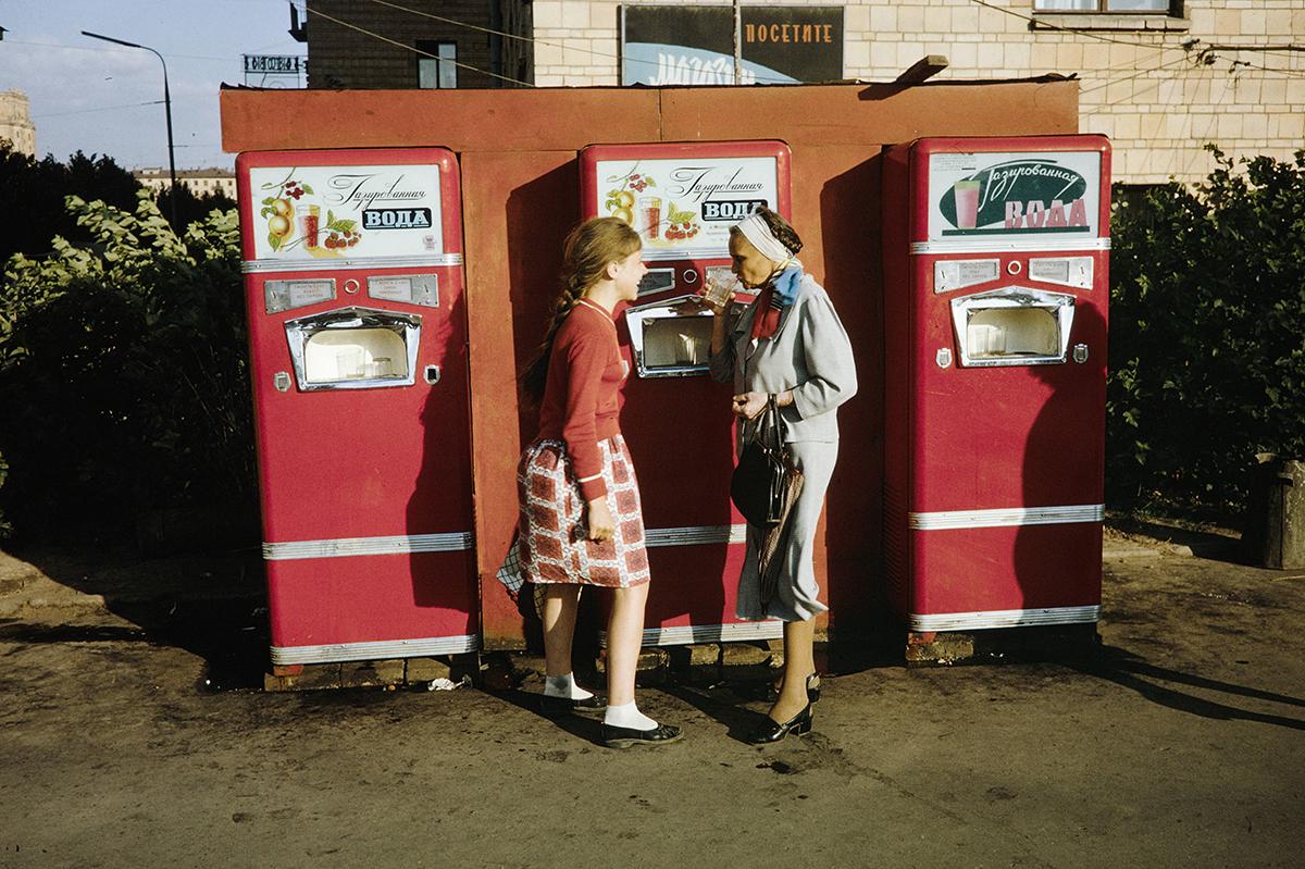 Автоматы с водой СССР