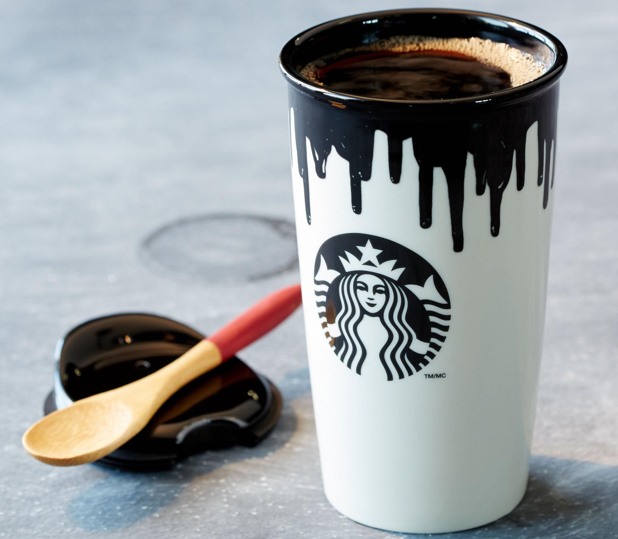 Кофе в термостакане