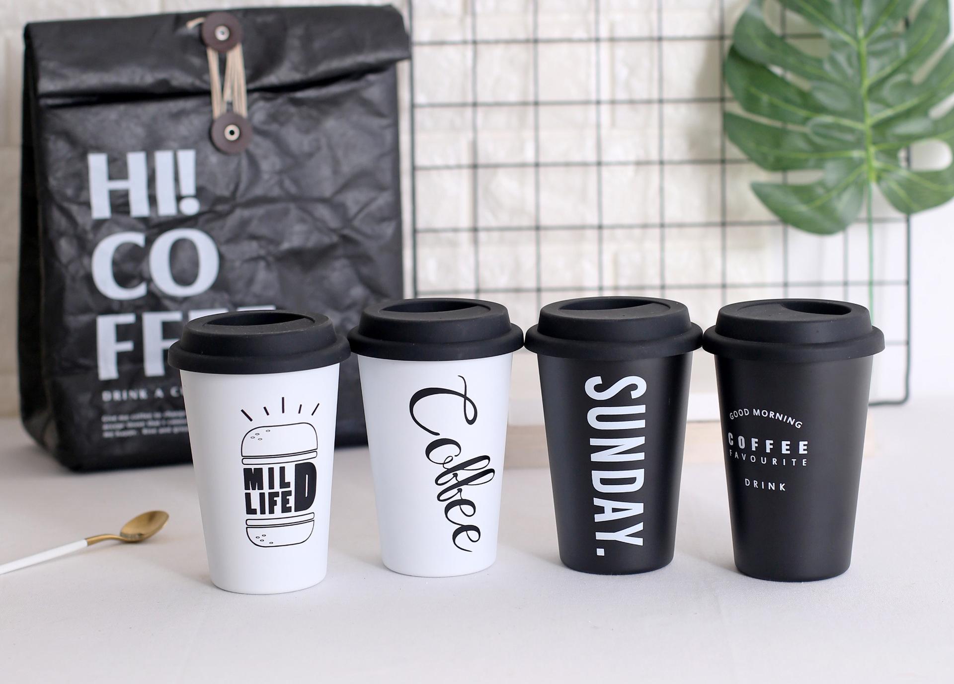 Многоразовые чашки для кофе