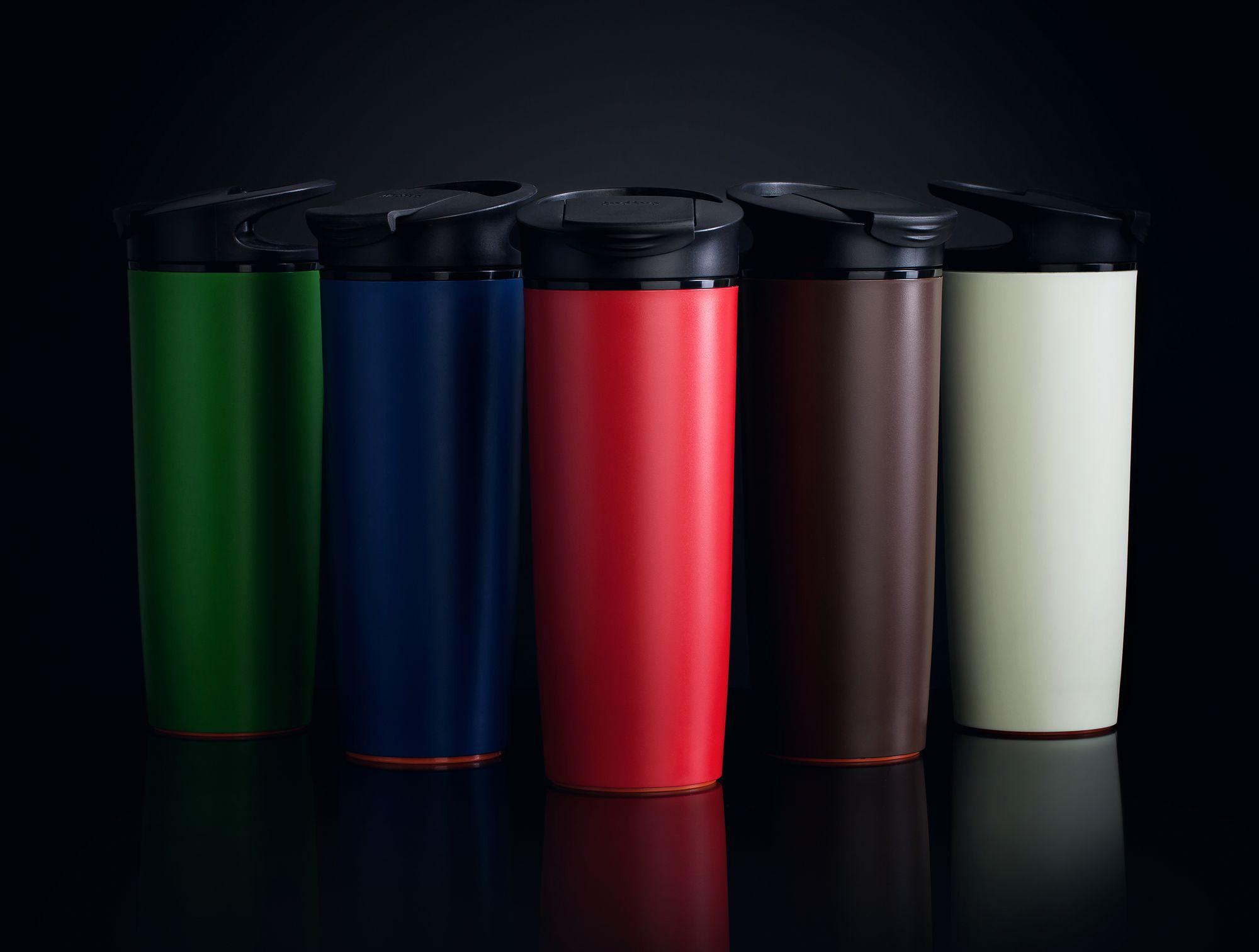 Разноцветные термостаканы