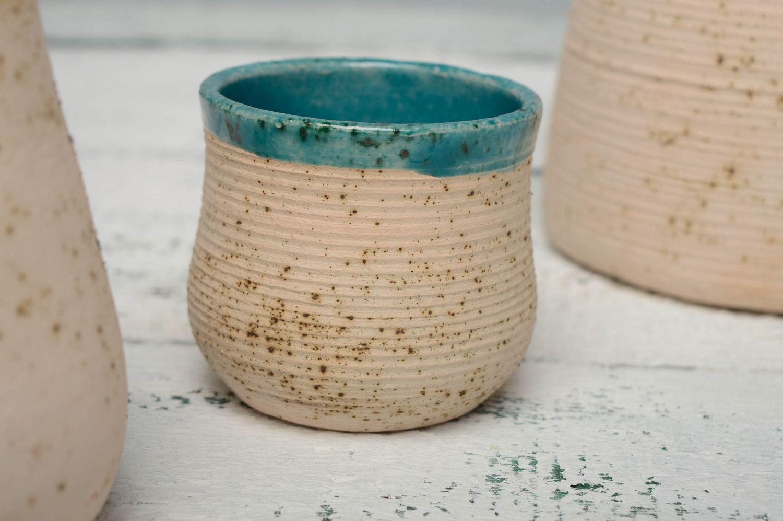 Фото стакана из керамики