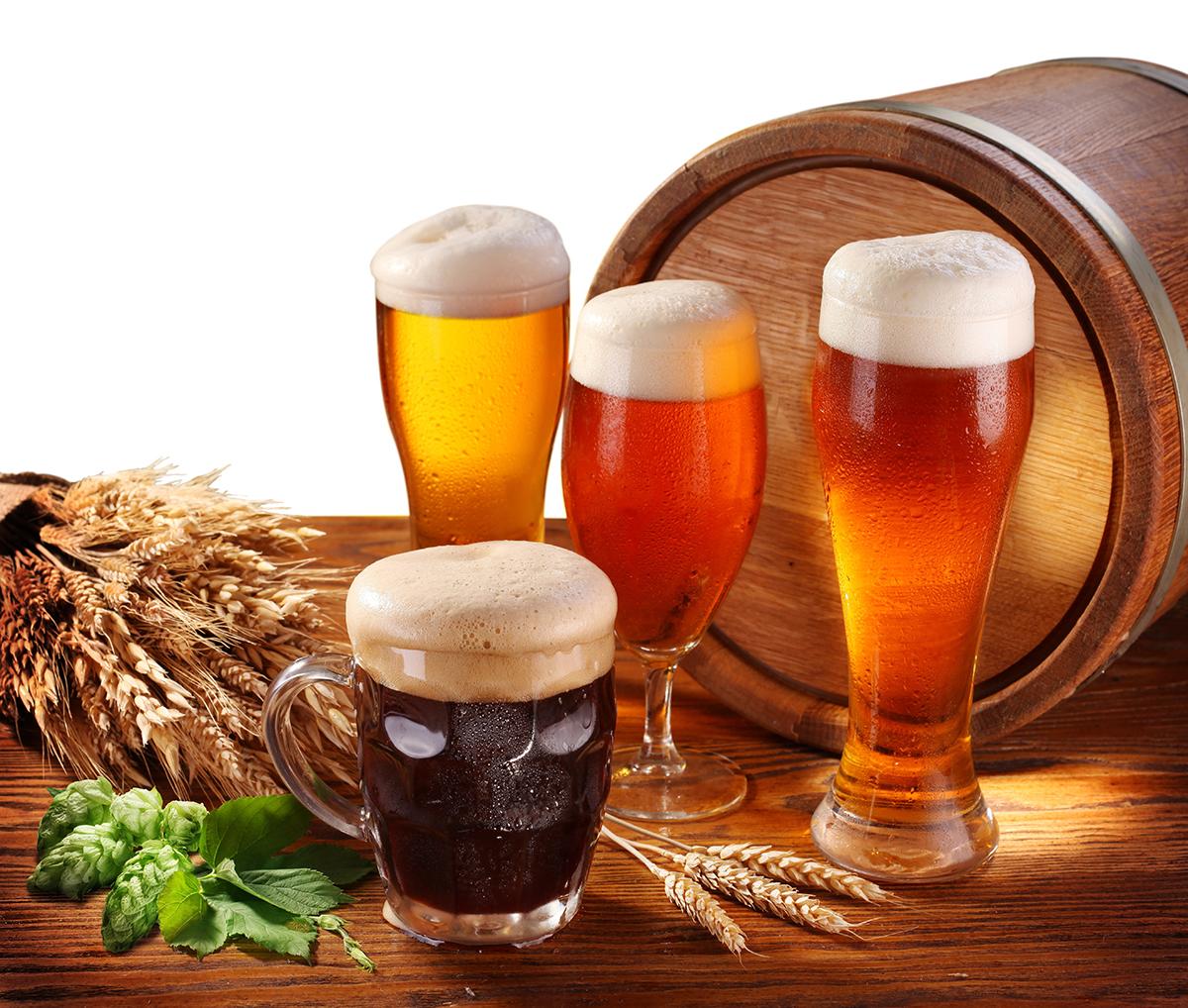Фото стаканов с пивом